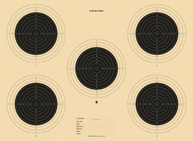 50 Metre Target 510x373