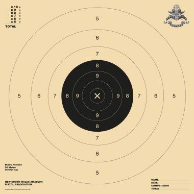 Black Powder Target 550x550