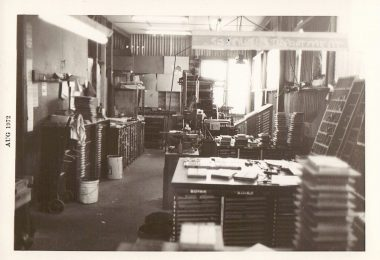 Photo taken at the Greenacre factory