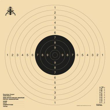 Precision Target 550x550