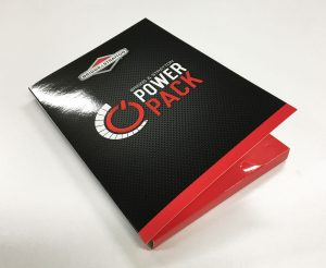 Glossy A4 corporate presentation folders