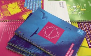 Full colour wiro bound booklet