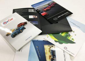 A4 size corporate presentation folders