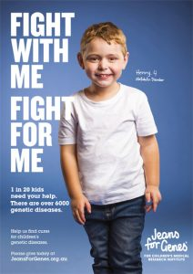 Jeans for Genes campaign