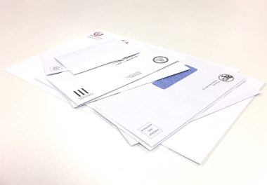 Plain & window face envelopes 11B, DL, DLX, C4, B4