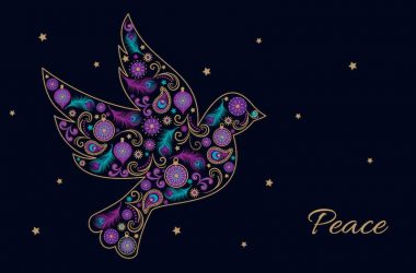 Dove of Peace Code: DO894, Gold Foil