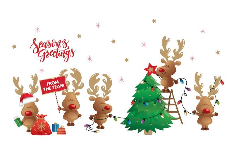 Light-up Christmas Code: FE842, Gold Foil