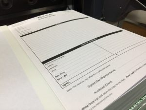 No Carbon Required docket books