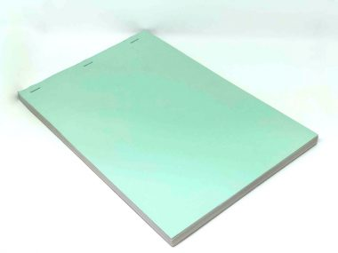 Side stitched soft cover duplicate NCR Book