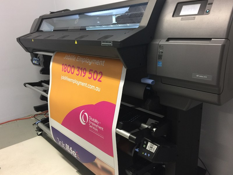 Wide Format printing in Sydney
