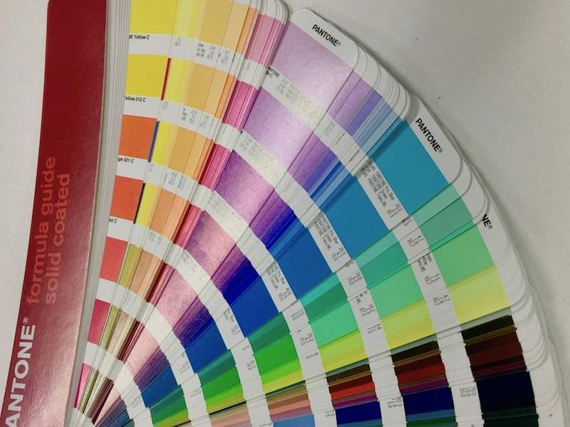 PMS Pantone Matching System Swatch