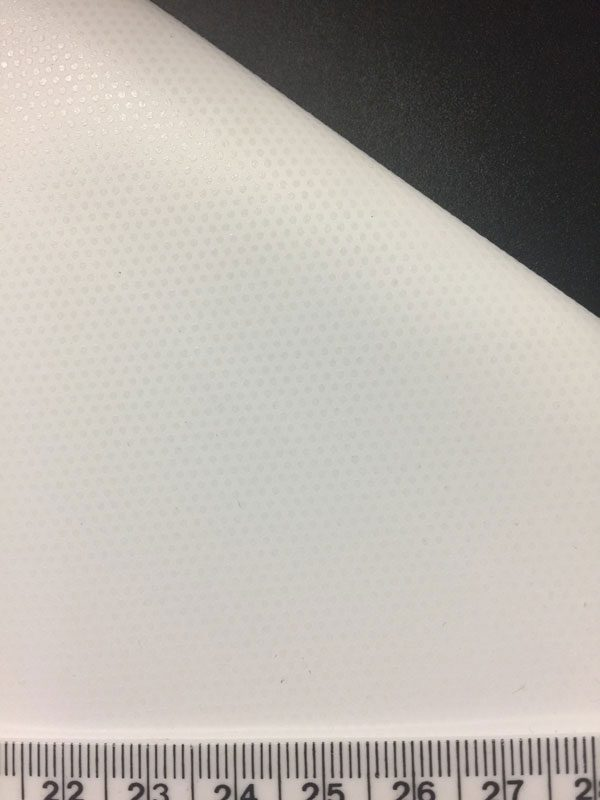 Easy-Apply vinyl adhesive is applied in dots