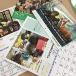 Saddle stitched calendars from Gowans & Son Chipping Norton