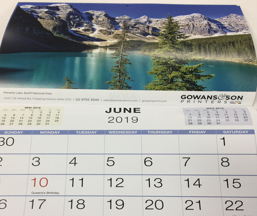 Saddle-stitched Calendar
