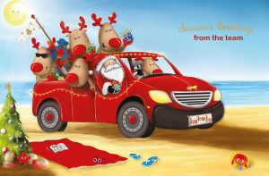 Santa's Team FE950