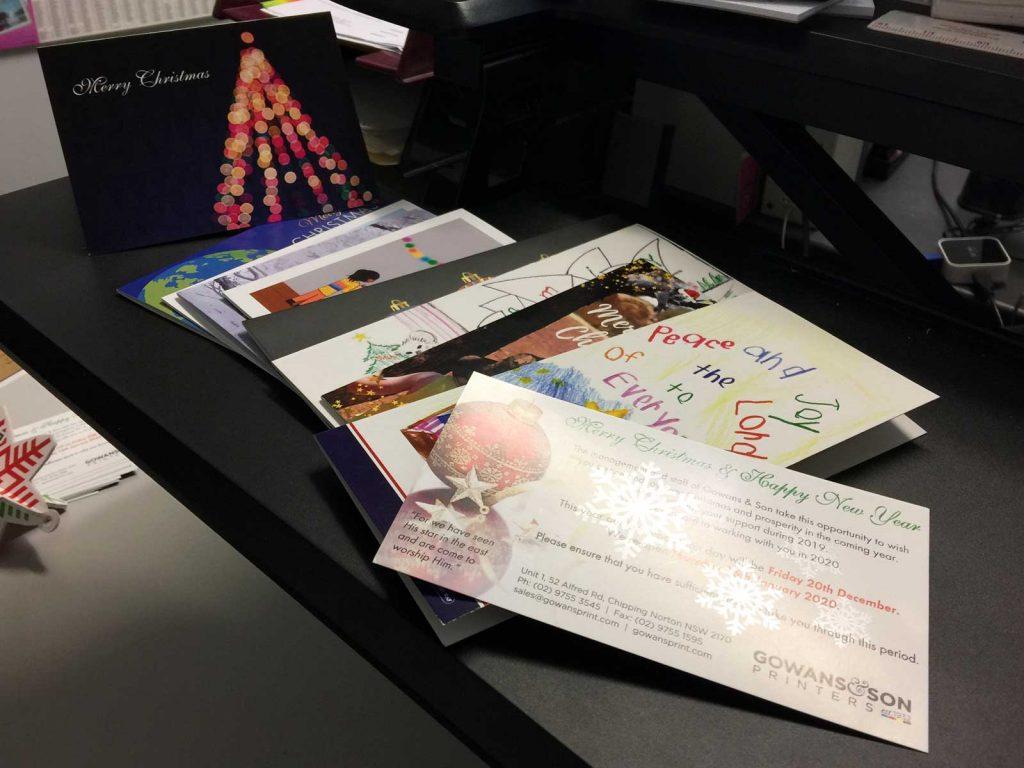 Custom Printed Christmas Cards