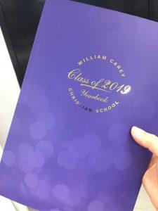 William Carey Christian School Year Book 2019