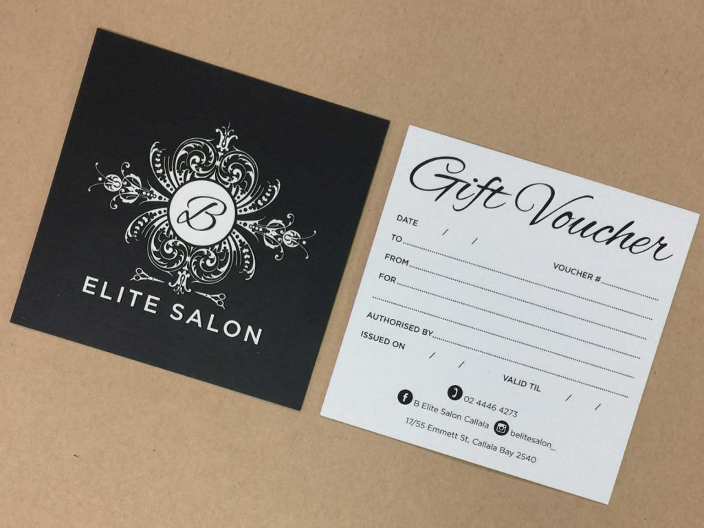 Shop gift card printing in Chipping Norton Sydney NSW