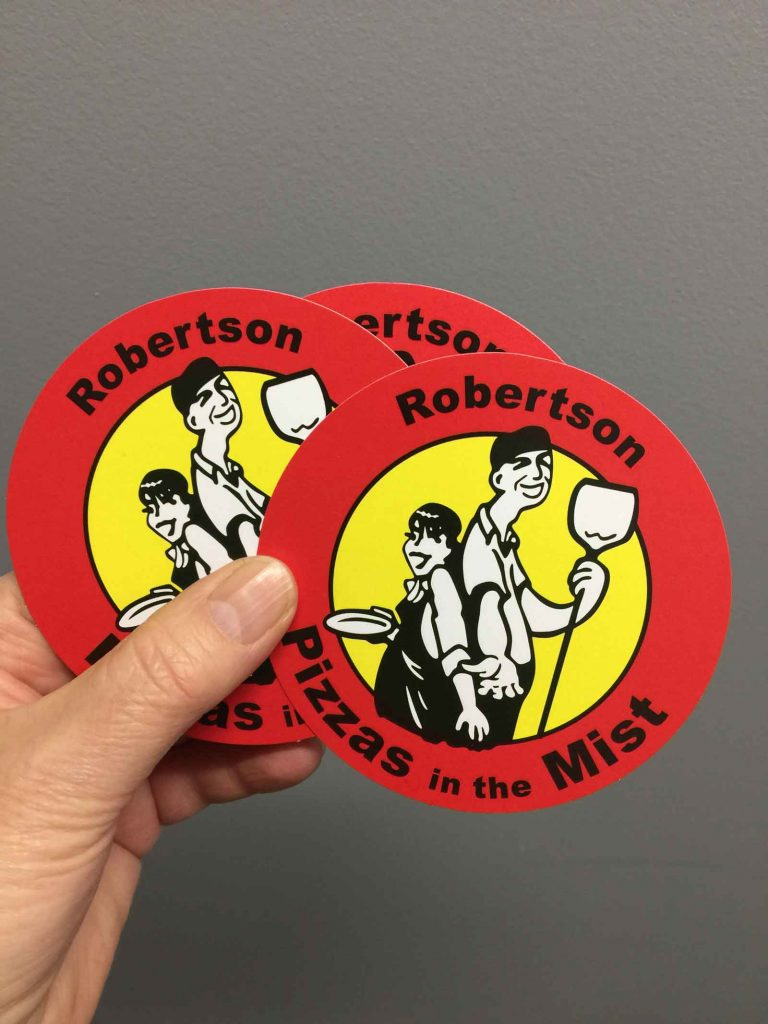 Coaster cards proudly printed and diecut in Chipping Norton Sydney