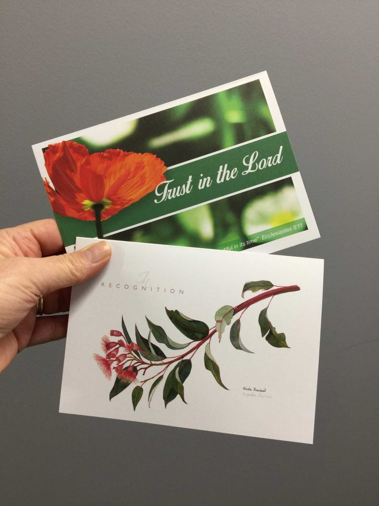 Custom greeting cards printed in Chipping Norton Sydney