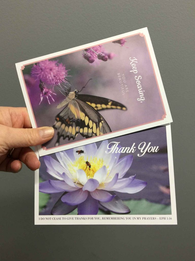 Custom greeting cards proudly printed in Chipping Norton Sydney, nation wide delivery