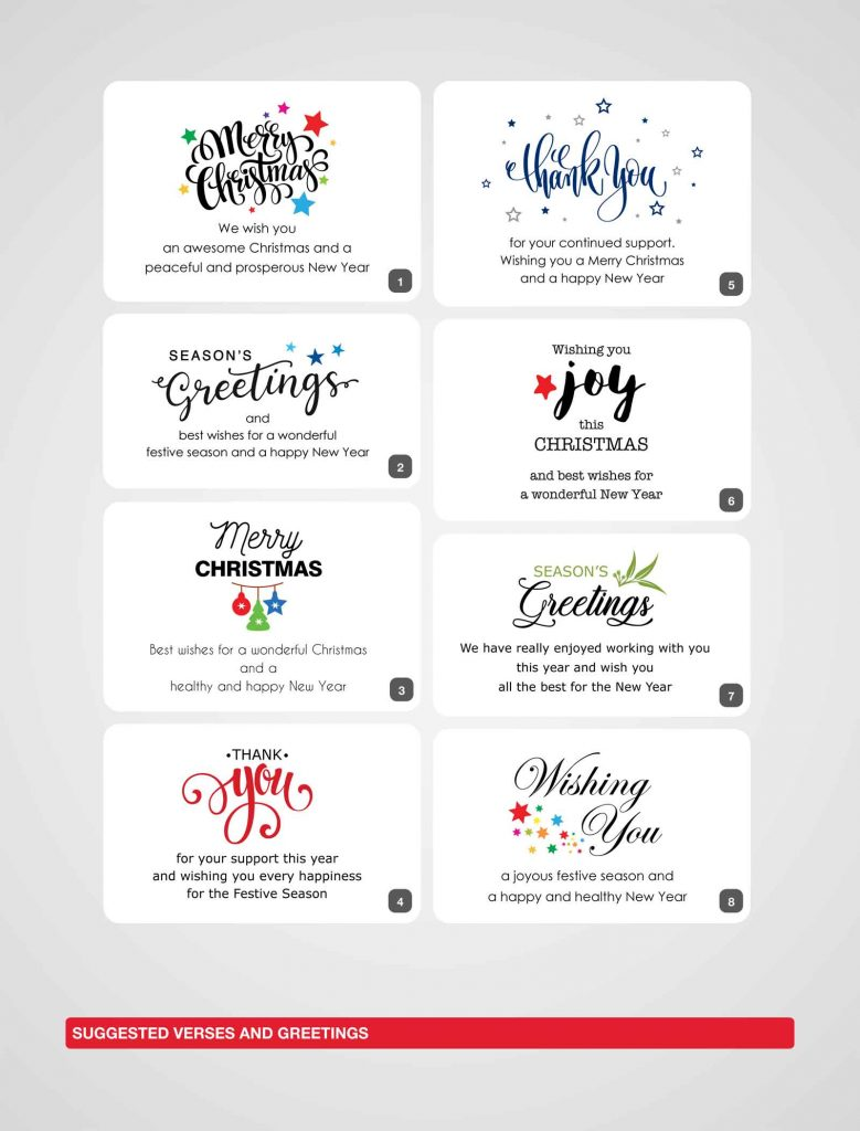 Charity Christmas Cards 2020 Gowans Son Printers