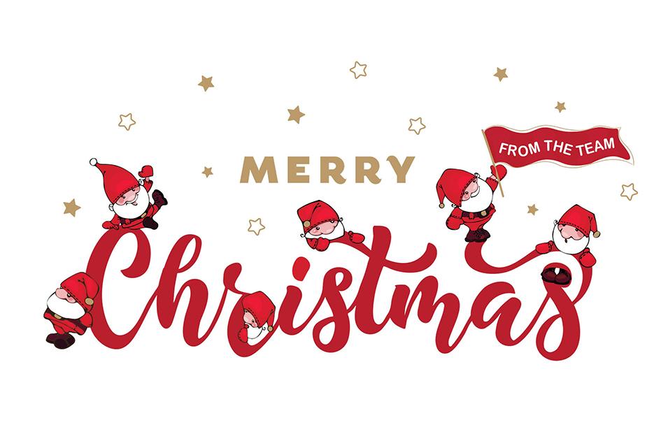 Festive Santas FE015