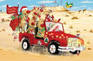 Santa's Team FE085