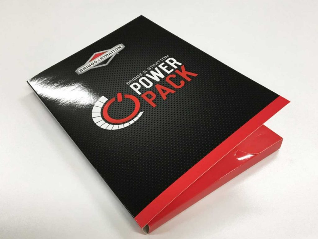 Glossy A4 corporate presentation folders in Chipping Norton NSW