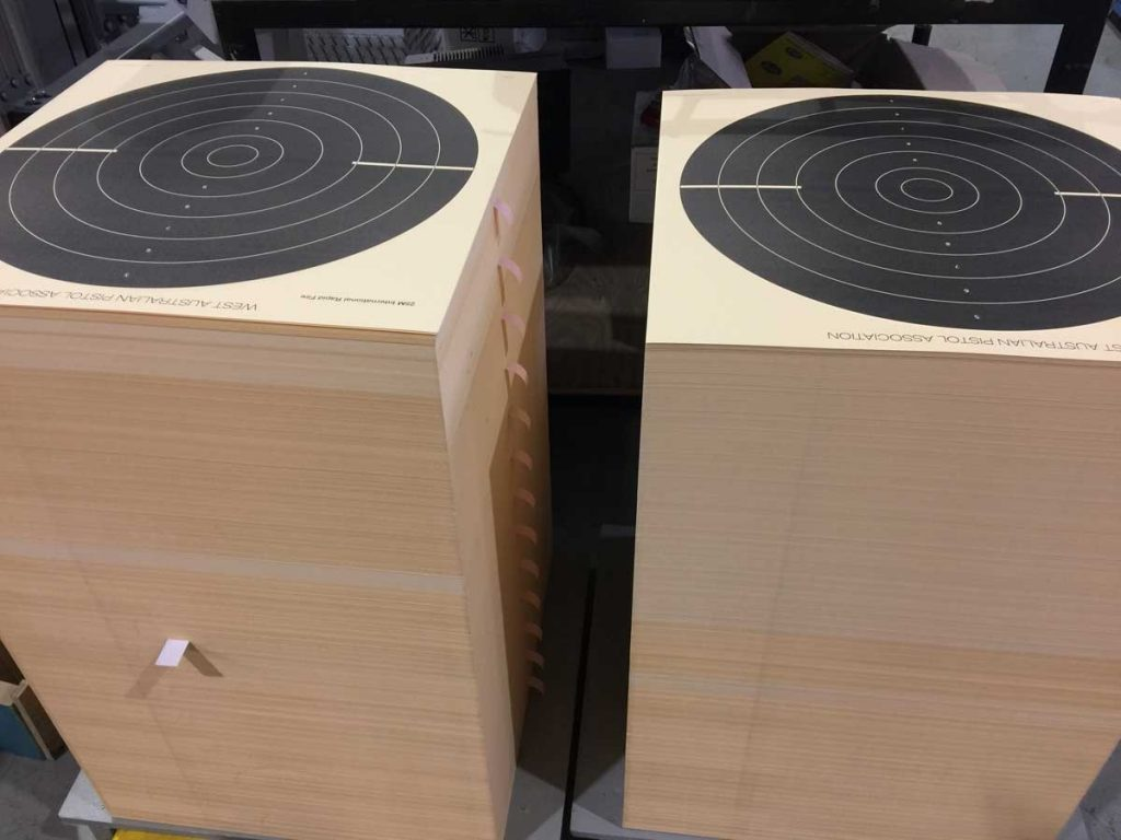 Targets shipped nationwide