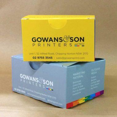 Custom folding packaging cartons