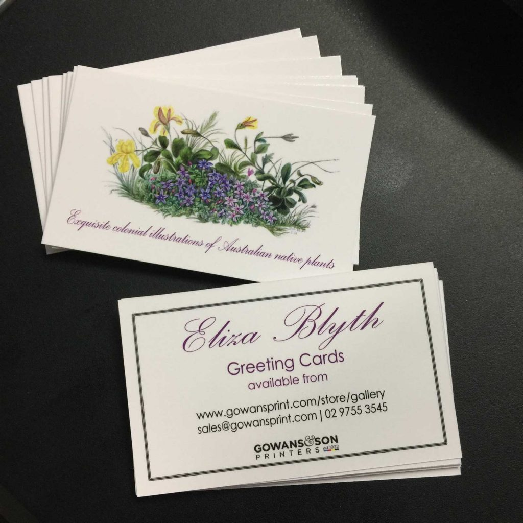 Business cards with matt lamination printed in Chipping Norton Sydney, the perfect pocket size marketing tool