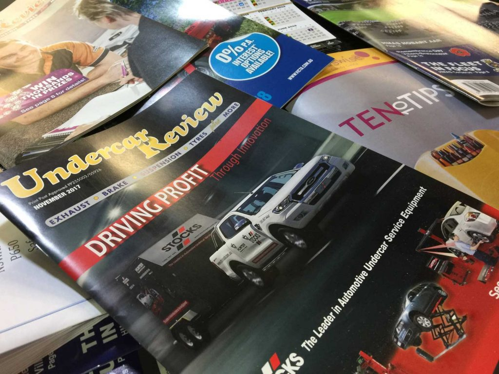 Magazines cataloques booklets printed in Chipping Norton sydney NSW