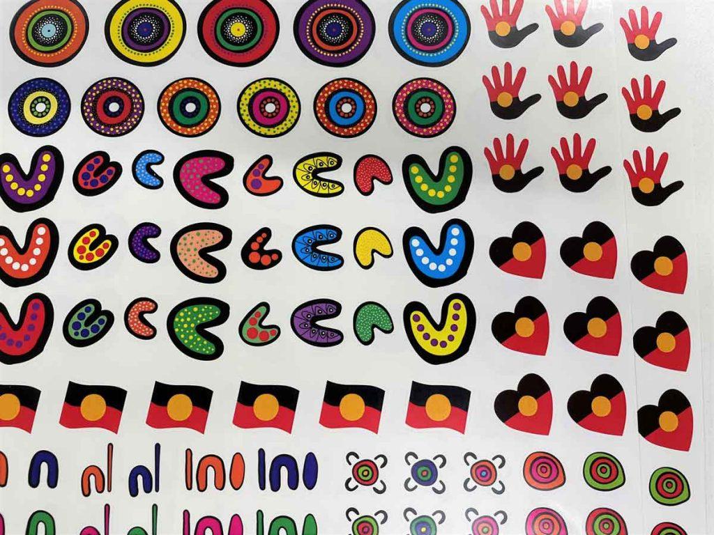 Kiss Cut or Top Cut Paper Stickers